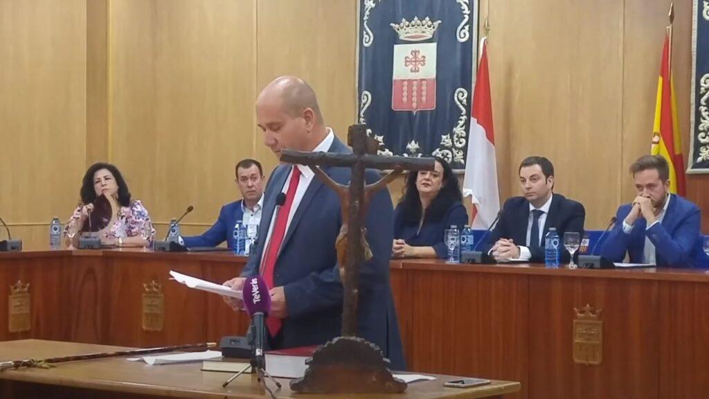 Primeras palabras del alcalde Miguel Angel Famoso Fino 2019